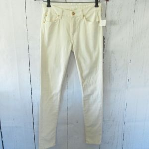 7 For All Mankind Jeans Skinny Velvet Pants